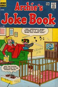 Cover Thumbnail for Archie's Joke Book Magazine (Archie, 1953 series) #89