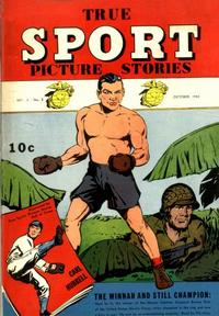 Cover Thumbnail for True Sport Picture Stories (Street and Smith, 1942 series) #v2#3