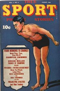 Cover Thumbnail for True Sport Picture Stories (Street and Smith, 1942 series) #v3#2