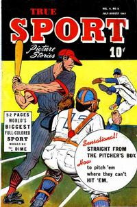 Cover Thumbnail for True Sport Picture Stories (Street and Smith, 1942 series) #v4#2
