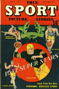 Cover Thumbnail for True Sport Picture Stories (Street and Smith, 1942 series) #v4#3