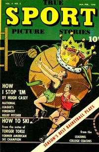 Cover Thumbnail for True Sport Picture Stories (Street and Smith, 1942 series) #v4#5