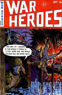 Cover Thumbnail for War Heroes (Ace Magazines, 1952 series) #3