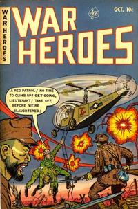 Cover Thumbnail for War Heroes (Ace Magazines, 1952 series) #4