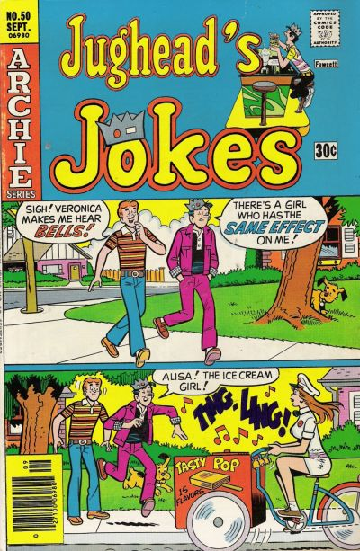 Cover for Jughead's Jokes (1967 series) #50