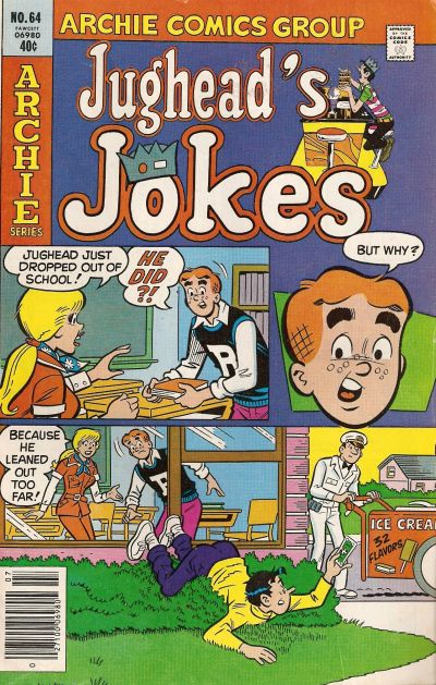 Cover for Jughead's Jokes (1967 series) #64