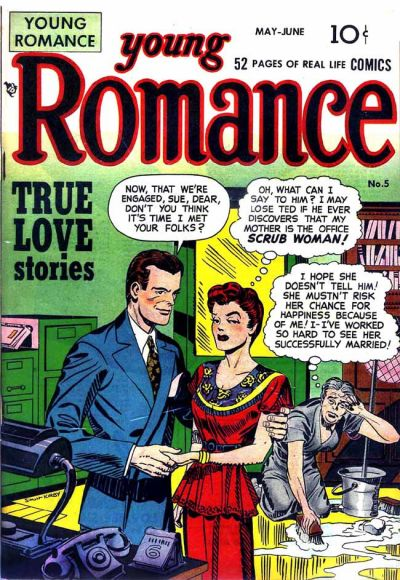 Cover for Young Romance (1947 series) #v1#5 (5)