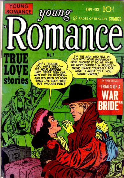 Cover for Young Romance (Prize, 1947 series) #v2#1 (7)
