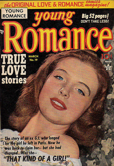 Cover for Young Romance (Prize, 1947 series) #v3#7 (19)
