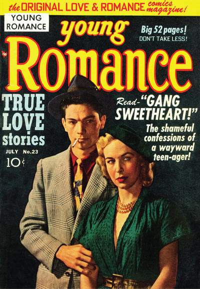 Cover for Young Romance (1947 series) #v3#11 (23)