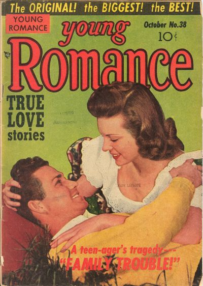 Cover for Young Romance (Prize, 1947 series) #v5#2 (38)