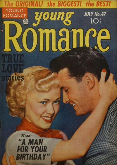 Cover for Young Romance (Prize, 1947 series) #v5#11 (47)
