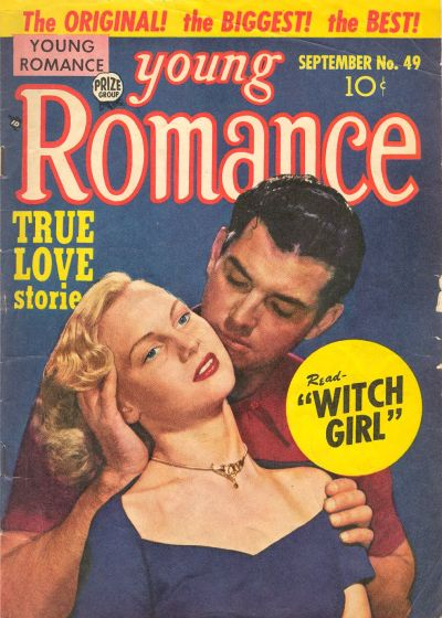 Cover for Young Romance (Prize, 1947 series) #v6#1 (49)