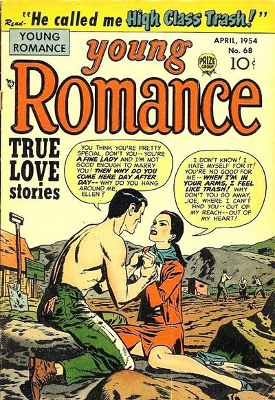 Cover for Young Romance (Prize, 1947 series) #v7#8 (68)