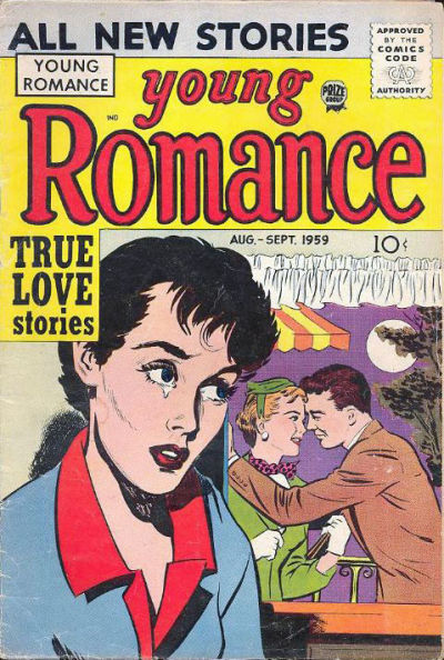 Cover for Young Romance (1947 series) #v12#5 [101]