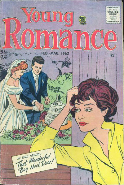 Cover for Young Romance (1947 series) #v15#2 [116]