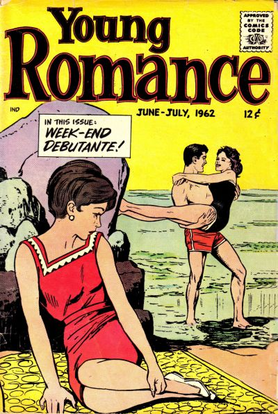 Cover for Young Romance (Prize, 1947 series) #v15#4 [118]