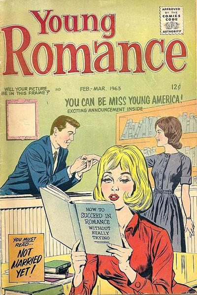 Cover for Young Romance (1947 series) #v16#2 [122]