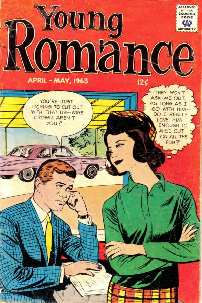 Cover for Young Romance (1947 series) #v16#3 [123]
