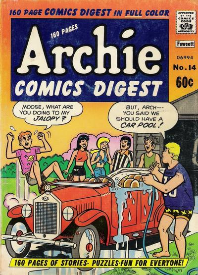 Cover for Archie Comics Digest (Archie, 1973 series) #14