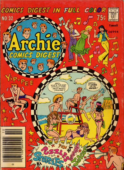 Cover for Archie Comics Digest (1973 series) #32