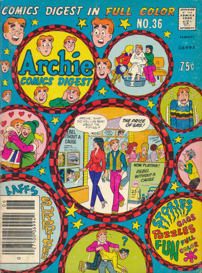 Cover for Archie Comics Digest (1973 series) #36