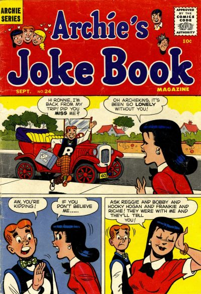 Cover for Archie's Joke Book Magazine (Archie, 1953 series) #24