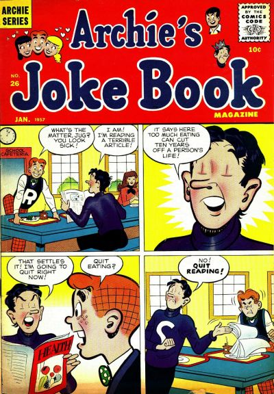 Cover for Archie's Joke Book Magazine (1953 series) #26