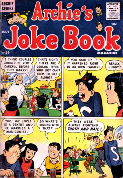 Cover for Archie's Joke Book Magazine (1953 series) #29