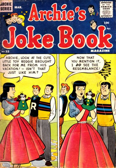 Cover for Archie's Joke Book Magazine (Archie, 1953 series) #33