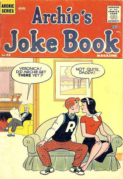 Cover for Archie's Joke Book Magazine (1953 series) #48
