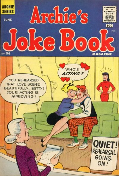 Cover for Archie's Joke Book Magazine (Archie, 1953 series) #54