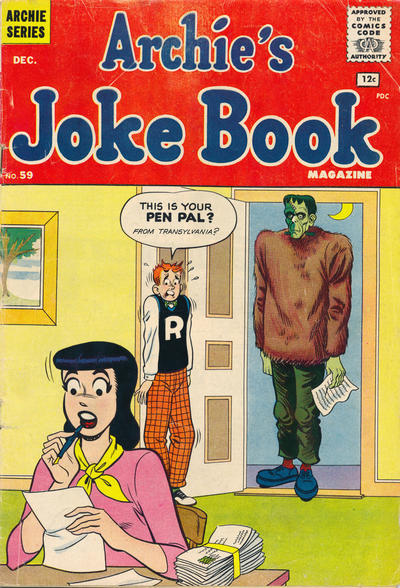Cover for Archie's Joke Book Magazine (Archie, 1953 series) #59