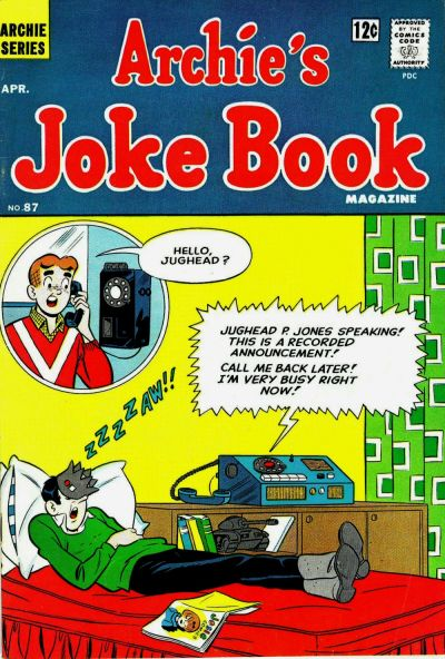 Cover for Archie's Joke Book Magazine (1953 series) #87