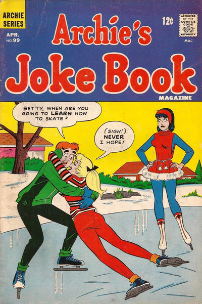 Cover for Archie&#39;s Joke Book Magazine (1953 series) #99