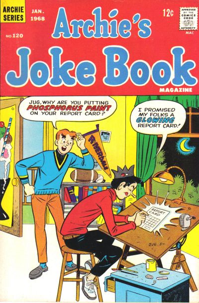 Cover for Archie's Joke Book Magazine (Archie, 1953 series) #120