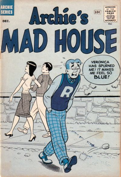 Cover for Archie's Madhouse (Archie, 1959 series) #9