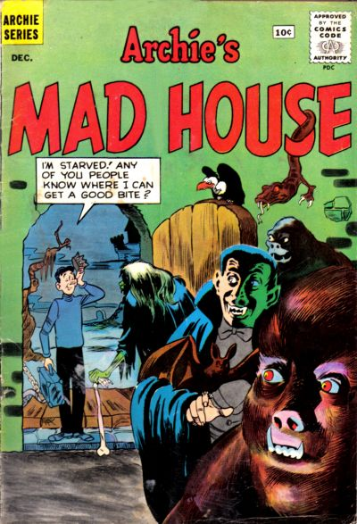 Cover for Archie's Madhouse (Archie, 1959 series) #16
