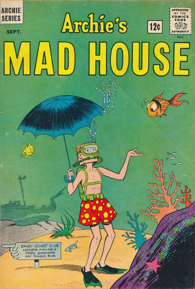 Cover for Archie's Madhouse (Archie, 1959 series) #28