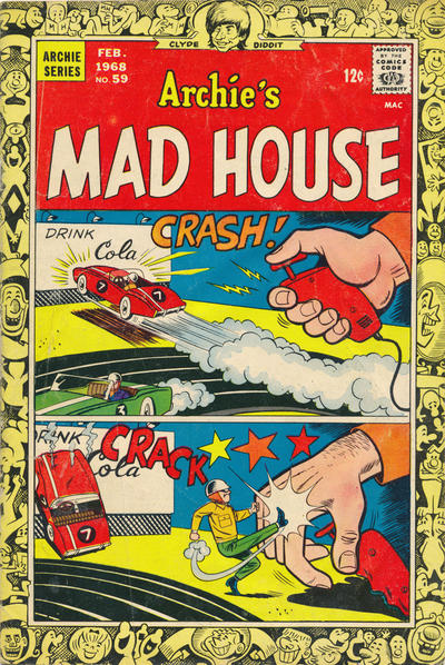 Cover for Archie's Madhouse (Archie, 1959 series) #59