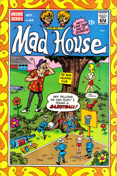 Cover for Archie's Madhouse (Archie, 1959 series) #64