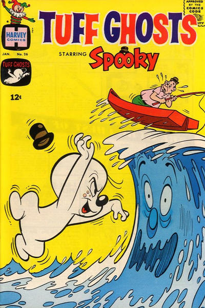 Cover for Tuff Ghosts Starring Spooky (Harvey, 1962 series) #26