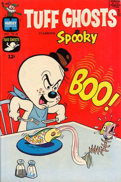Cover for Tuff Ghosts Starring Spooky (Harvey, 1962 series) #28