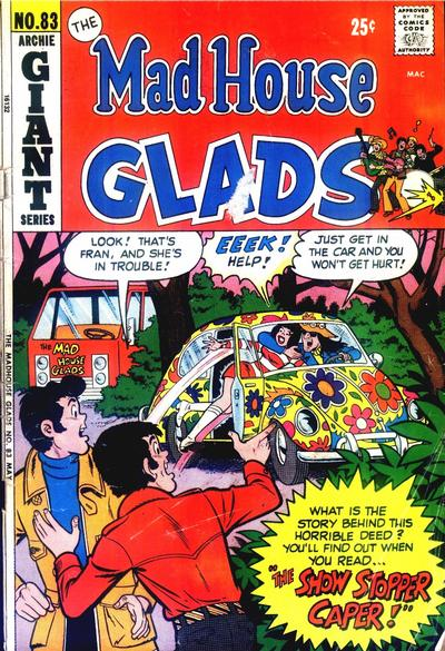 Cover for Mad House Glads (Archie, 1970 series) #83