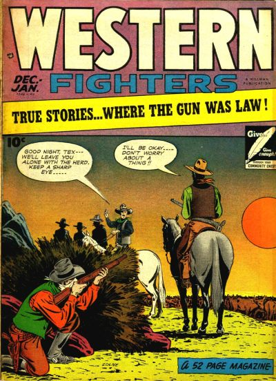 Cover for Western Fighters (1948 series) #v1#5
