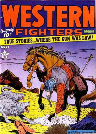 Cover for Western Fighters (1948 series) #v1#9