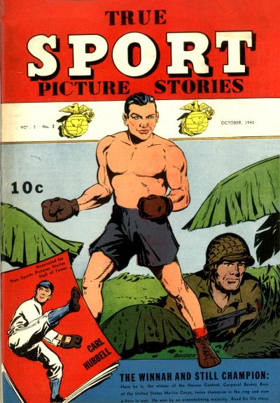 Cover for True Sport Picture Stories (Street and Smith, 1942 series) #v2#3
