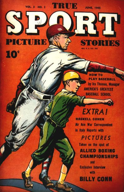 Cover for True Sport Picture Stories (Street and Smith, 1942 series) #v3#1