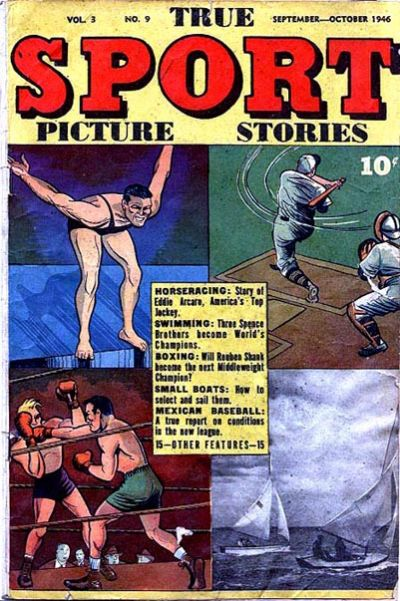 Cover for True Sport Picture Stories (Street and Smith, 1942 series) #v3#9