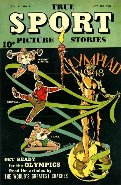 Cover for True Sport Picture Stories (Street and Smith, 1942 series) #v4#4